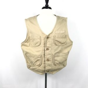 Eddie Bauer fishing vest size large